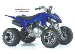Llantas SS112 Sport ITP montadas en un Yamaha YFM250 Raptor