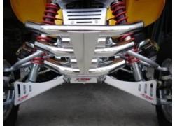 "Defensa de Aluminio TriStar ""X6"" XRW montada en un Honda"
