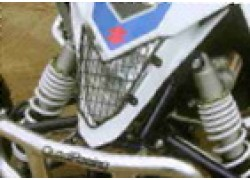 Rejilla metálica protección faro delantero Suzuki LT-R450 06-11