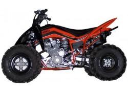 Yamaha Raptor 250 con kit de rebaje de suspensión delantera y trasera