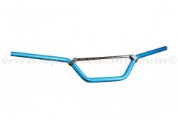Manillar de aluminio de 22mm. Azul