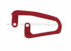 Patín delantero de cadena de transmisión Rojo Honda TRX450 R 04-13