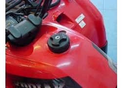 Tapon deposito gasolina con llave YamahaYFM 250 Big Bear 07-08, YFM400 Big Bear 00-12, YFM350 Wolverine 06-09, YFM350 Grizzly 07-14, YFM400 Grizzly 07-08, YFM450 Wolverine 06-11, YFM450 Grizzly 07-14, YFM660 Grizzly 02-06, YFM600 Grizzly 98-01