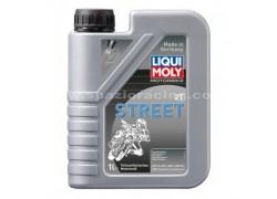 Aceite 2 Tiempos semi-sintético STREET LIQUI MOLY (1 Litro)
