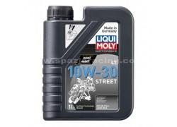 Aceite 4 Tiempos sintético 10W30 STREET LIQUI MOLY (4 Litros)