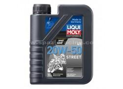 Aceite 4 Tiempos mineral 20W50 STREET LIQUI MOLY (1 Litro)