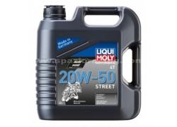 Aceite 4 Tiempos mineral 20W50 STREET LIQUI MOLY (4 Litros)