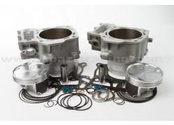 Kit 2 cilindros sobredimensionados compresión 9.0:1 Kawasaki KVF750 Brute Force 05-14, KRF750 Teryx 08-13