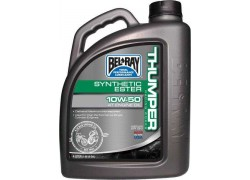 Aceite 4 Tiempos Thumper racing works synthetic ester 10W50 BEL-RAY (4 Ltiros)