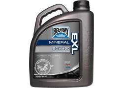 Aceite 4 Tiempos EXL Mineral Engine 20W50 BEL-RAY (4 Litros)