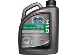 Aceite 2 Tiempos (Pre-Mix) H1-R Racing 100% Synthetic Ester BEL-RAY 4 Litros