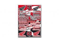 Hoja de adhesivos Honda Racing 5076H BLACKBIRD