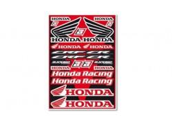 Hoja de adhesivos Honda CR/CRF BLACKBIRD