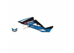 Kit Adhesivos Azul DREAM 2 Blackbird Racing Suzuki LT-Z400 03-10