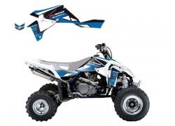 Kit Adhesivos Azul DREAM 2 Blackbird Racing Suzuki LT-R450 06-15