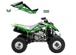 Kit Adhesivos DREAM 2 Blackbird Racing Kawasaki KFX400 03-07