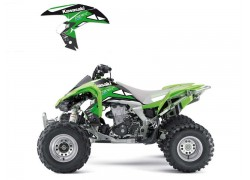Kit Adhesivos DREAM 2 Blackbird Racing Kawasaki KFX450R 08-15