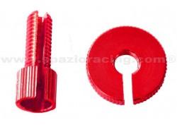 Tensor de cable M10x30mm. Rojo PRO-BOLT