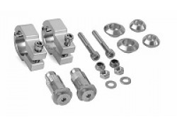 "Kit de montaje para paramanos cerrado ""Evolution  Integral"" en manillares de 28mm. POLISPORT"