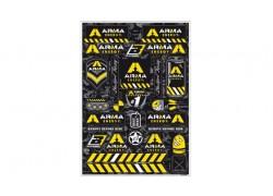 Hoja de adhesivos Arma 5076F BLACKBIRD