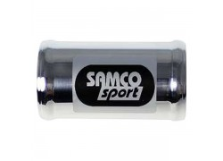 Unión de aluminio de Ø19 para manguitos Samco