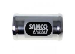 Unión de aluminio de Ø22 para manguitos Samco