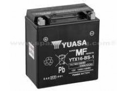 Bateria YUASA YTX16-BS-1 Suzuki LT-A500 Quadmaster 00-01, LT-A500 Vinson 02-03, LT-F500 Vinson 02-03, LT-A700 King Quad 05-07