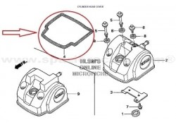 Junta tapa de Balancines Honda TRX450 R 06-13, TRX450 ER 06-14