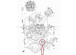 Termostato de agua Suzuki LT-A450 King Quad 07-12, LT-A500 King Quad 12-16, LT-F500 Quadrunner 01-02, LT-A500 King Quad Power steering 09-16