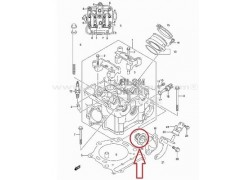 Termostato de agua Suzuki LT-A700 King Quad 05-08, LT-A750 King Quad 09-16, LT-A750 King Quad Power steering 09-16