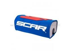 """Protector manillar de 28mm """"FatBar"""" 3D O2 SCAR Azul"""