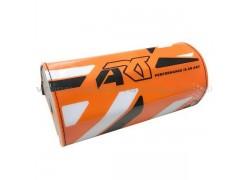 """Protector manillar de 28mm """"FatBar"""" Naranja ART"""