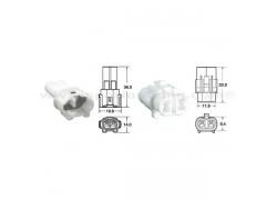 5 Juegos de conectores 2 vias Series 090 SMTO tipo original Ø0,85mm²/1,25mm²