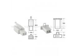 5 Juegos de conectores 2 vias 110 ML tipo original Ø0,5mm²/0,85mm²