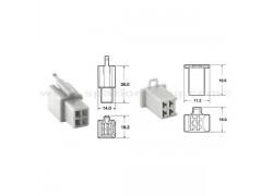 5 Juegos de conectores 3 vias 110 ML tipo original Ø0,5mm²/0,85mm²