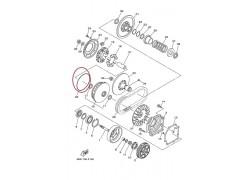 Junta torica tapa variador Yamaha YFM550 Grizzly 09-16, YFM700 Grizzly 07-17, YXM700 Viking 14-15, YXR700 Rhino 08-14