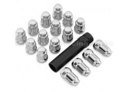 Tuercas cónicas antirrobo M12mm. x 1.25 Kawasaki KAF820 Mule 15-17, KAF1000 Mule 16-17