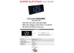 Caracteristicas del BA024B00 Voltímetro SUPER SLIM KOSO