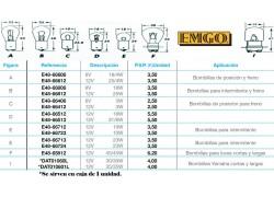 Bombillas Quad y ATV EMGO