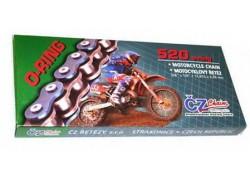 Cadena (520) super reforzada con retenes CZ de 78 Pasos Kymco Maxxer 50 02-04, MXU50 02-04, Maxxer 150 02-05, MXU150 02-05