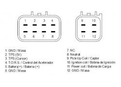 CDI (Centralita) Yamaha YFZ450 04-05, YFZ450R 06-08, YFZ450S 04-05, YFZ450X 06-08