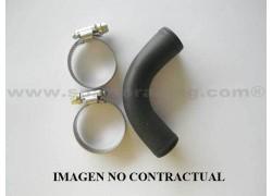Codo de unión aluminio 90°/ Ø25mm./largo 115mm. para manguitos de radiador