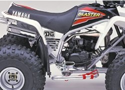 Colector de escape (Cromado) DG Yamaha YFS200 Blaster 88-07