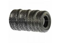 Combo 4 Neumáticos Asfalto A021 25x8-12 y 25x10-12 SUN-F
