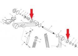 Rodamiento brazo basculante trasero Can Am Outlander 330 04-05, Outlander 400 03-15, Outlander 500 07-12, Renegade 500 08-12
