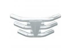 """Defensa de Aluminio """"TriStar"""" Kawasaki KFX450 04-08, Suzuki LT-Z250 04-06, Yamaha YFM350 Warrior 87-04, YFM700 Raptor 06-14"""