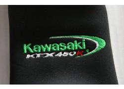 Detalle de las Fundas Amortiguadores Kawasaki KFX450R 08-13