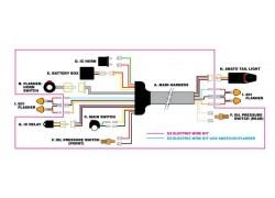 D45-70-050 Kit instalación eléctrica EZ DRC.