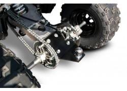Enganche para remolque Artic Cat DVX400 03-06, Kawasaki KFX400 03-06, Suzuki LT-Z400 03-08