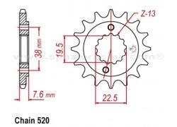 Piñon Goes G450 X 09-11, G450 R SM 14-15